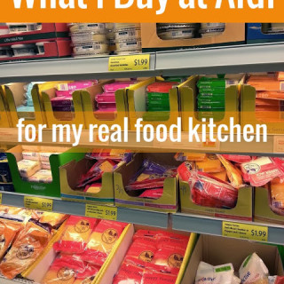 What I Buy at Aldi