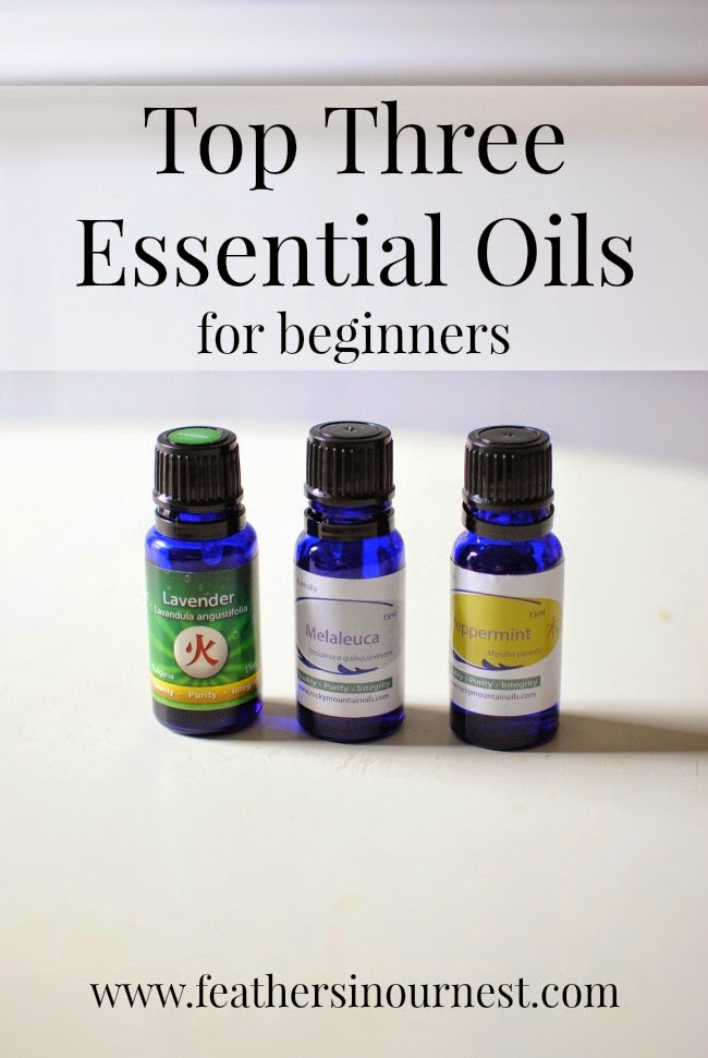 top three essential oils for beginners
