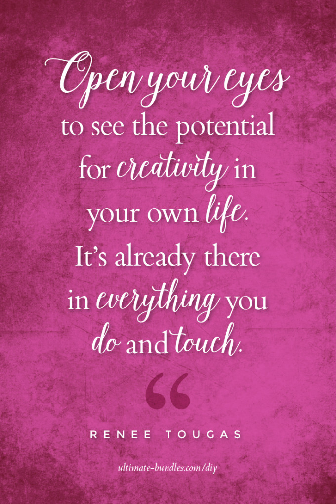creativity in your own life