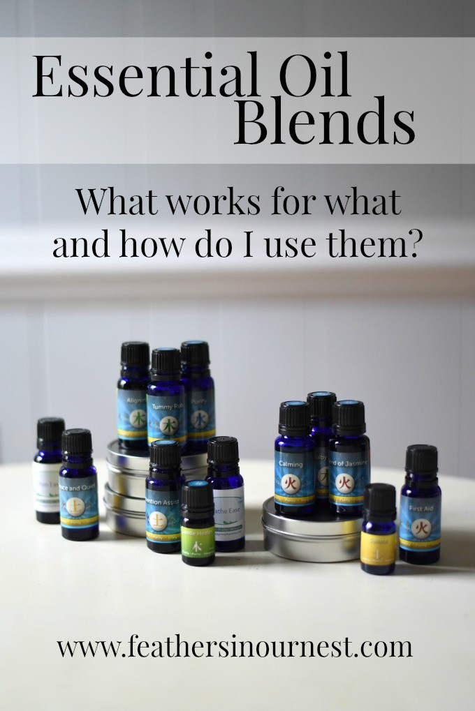 Essential Oil Blends: What works for what and how do I use them?