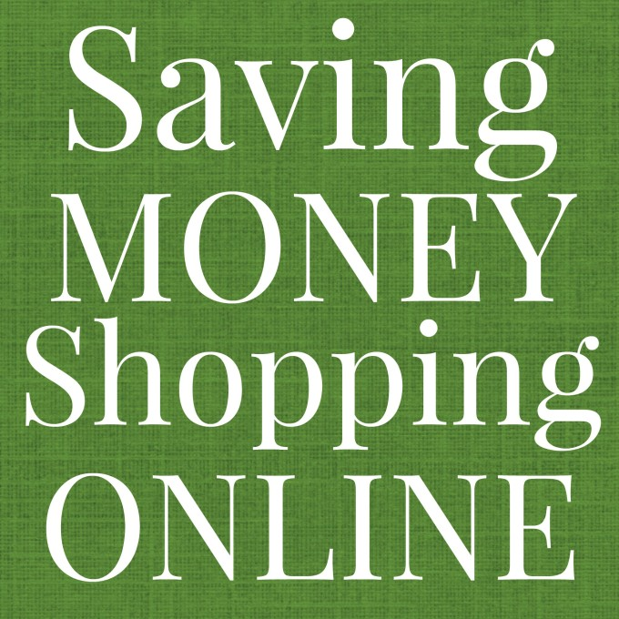 saving money shopping online