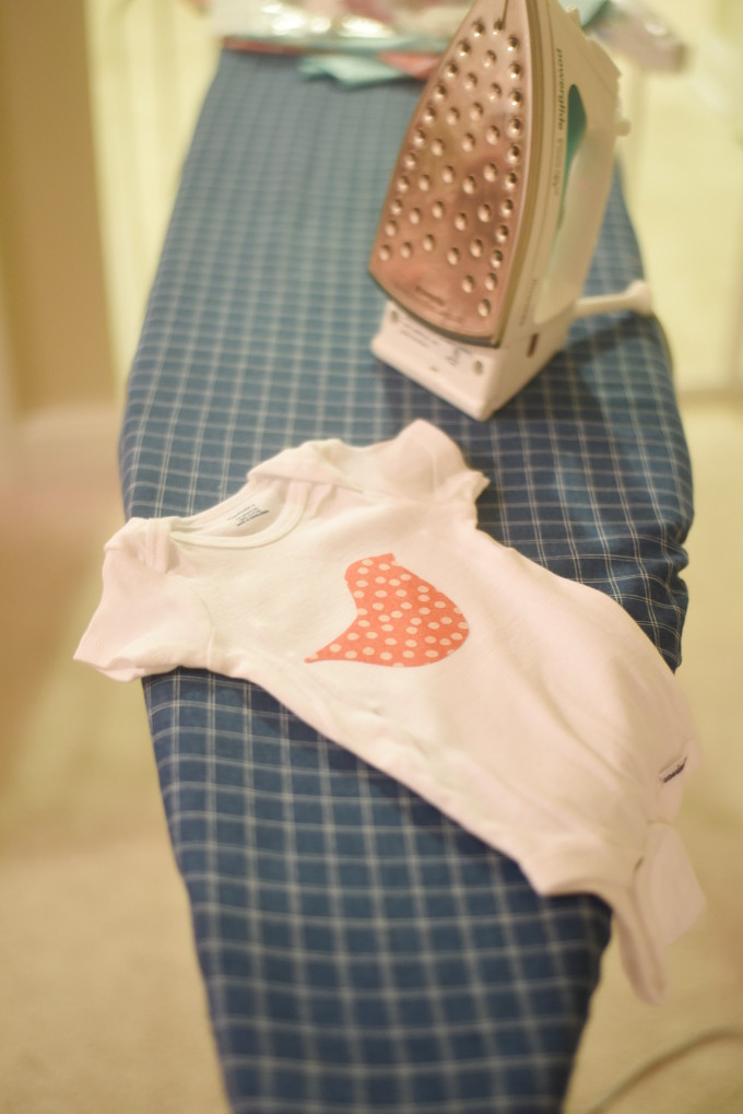DIY Baby Onesies - great baby shower activity!  |  Feathers in Our Nest