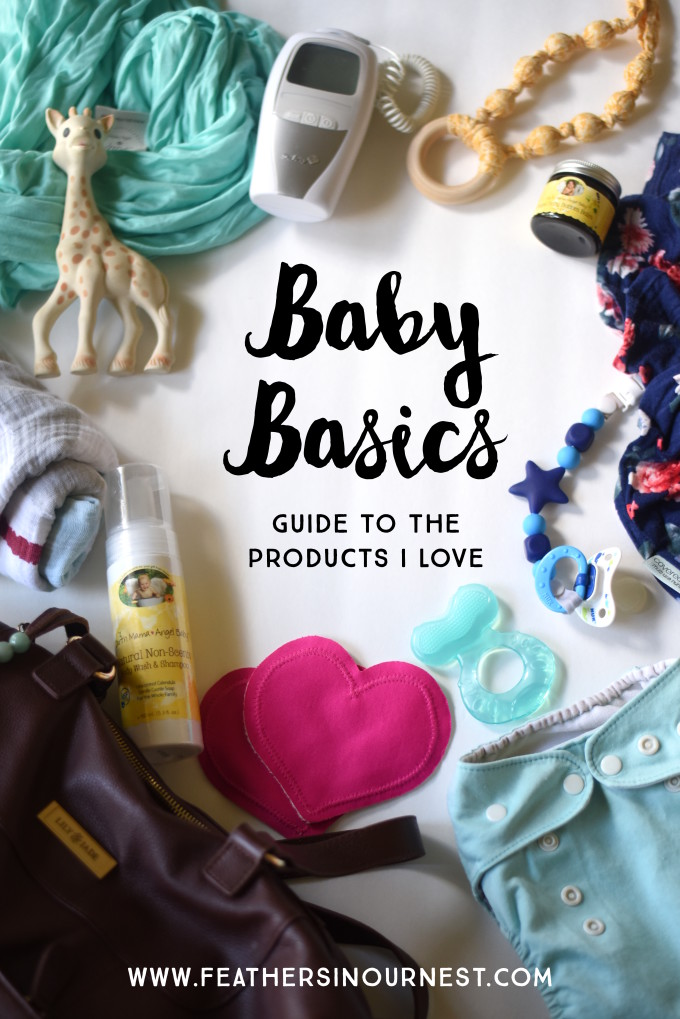 all the best baby basics (for sleeping, swaddling, nursing, diapering, teething, and MORE) gathered in one post written by a mom of four