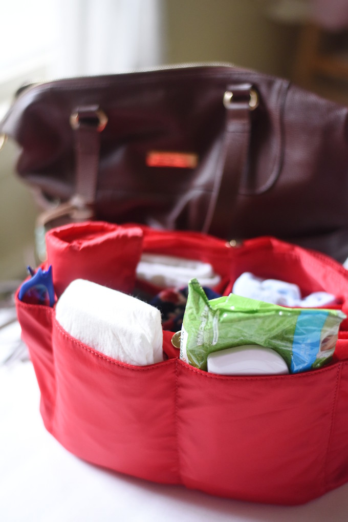 Inside My Lily Jade Diaper Bag