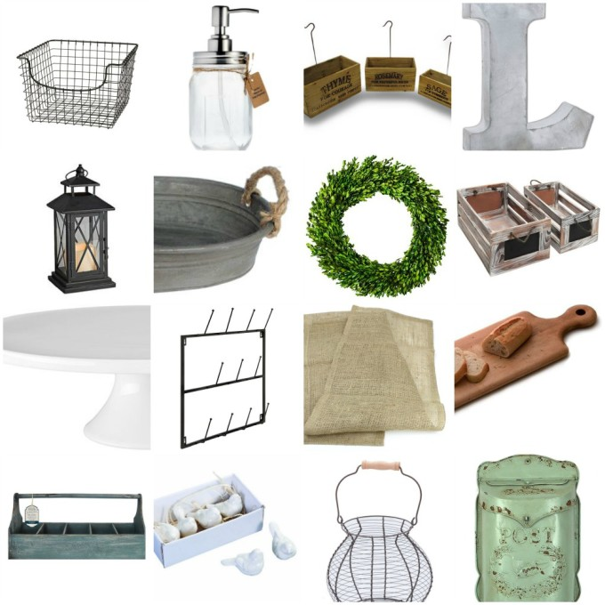 "Gift Guide For The ""Fixer Upper"" Fan: Modern Farmhouse Style"