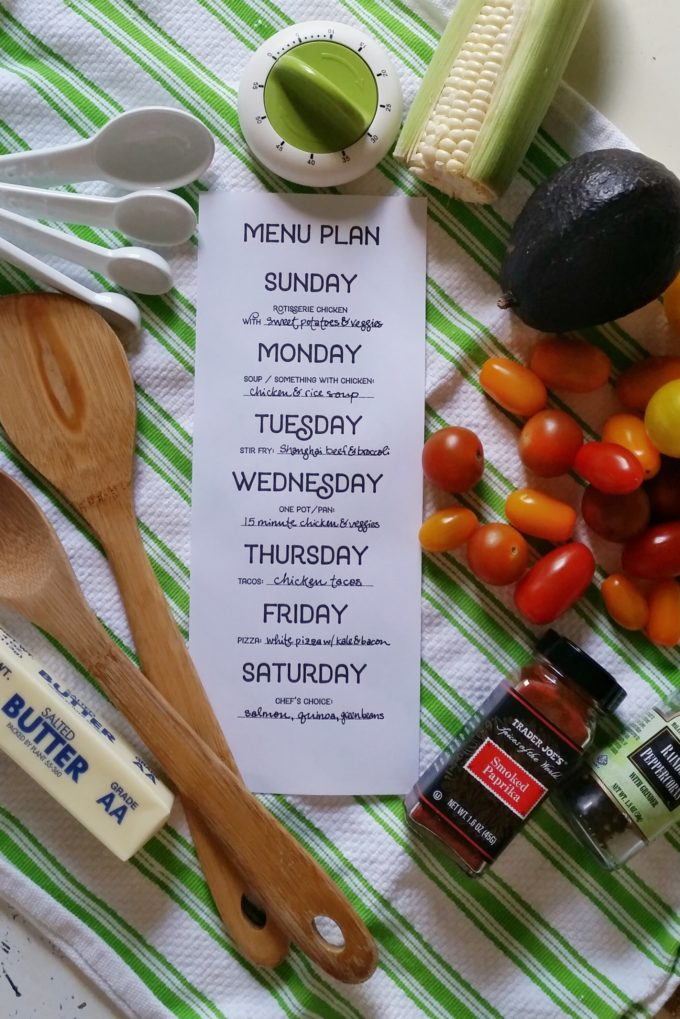 """Menu Planning Solution! The best way to avoid that age old question... """"What do I make for dinner?"""" 