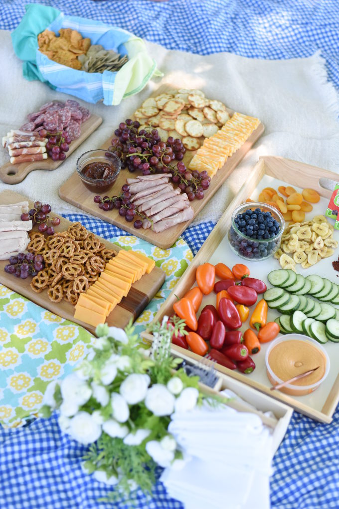 Fancy picnic food! Dining al fresco with a mostly gluten-free menu | Feathers in Our Nest
