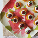 Apricot Goat Cheese Bites - easy & pretty appetizer! | Feathers in Our Nest
