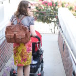 Lily Jade Elizabeth in Camel - what a perfect bag! On my wish list for sure. I love the backpack carry! | Feathers in Our Nest