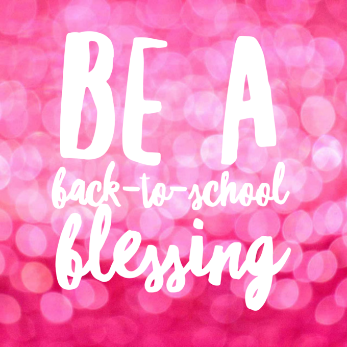 Be a Back-to-School Blessing: Help provide feminine supplies for middle school girls in North Carolina