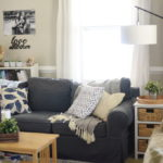 Blue Living Room | Feathers in Our Nest