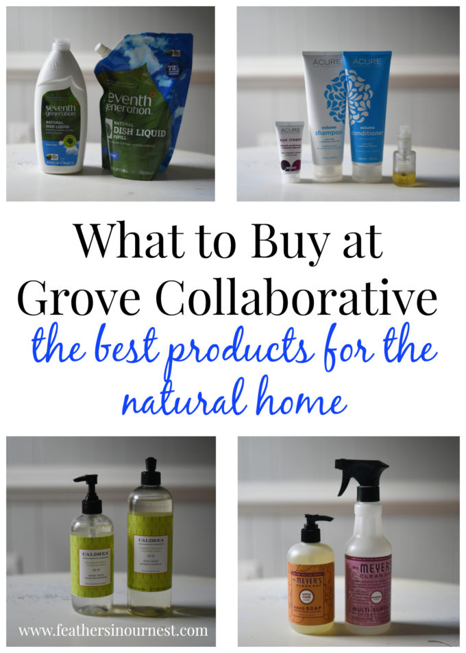 What to Buy at Grove Collaborative: The Best Products for the Natural Home | Feathers in Our Nest