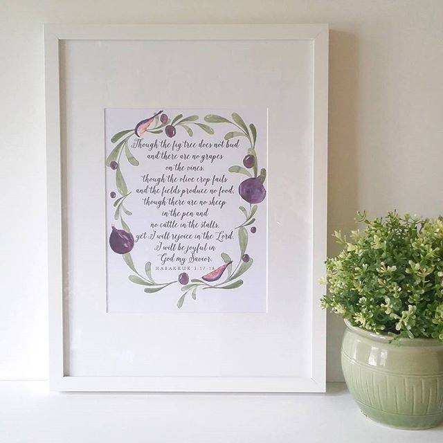 Artistic Renditions Scripture Art Print