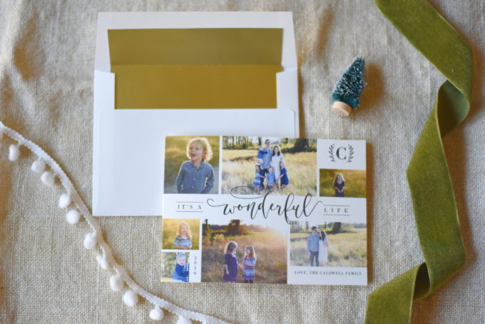 Tips for creating perfect holiday cards | tips for designing the best Christmas cards | beautiful photo cards | Minted review + giveaway!