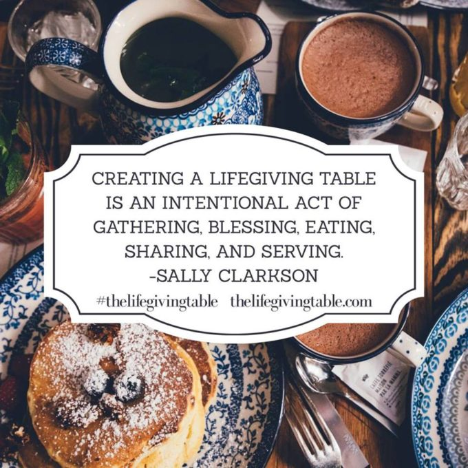 Lifegiving Table book review | Feathers in Our Nest