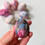 Silk Dyed Easter Eggs | Feathers in Our Nest